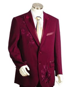 Men's Two Button Suits Wine: Mens Discount Suits By Style and Quality 2 Button Suits...