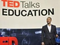 TED Talks Education, hosted by John Legend, premieres May 7, 2013 at 10/9 c on PBS.  Public television and TED, the non-profit organization devoted to Ideas Worth Spreading, share a deep commitment to addressing the high school dropout crisis. The TED Talks Education one-hour program brings together a diverse group of teachers and education advocates delivering short, high-impact talks on the theme of teaching and learning. These origina