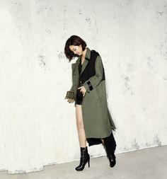 Gong Hyo Jin..trench coat