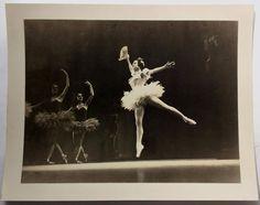 Rare Original Photo BALLET RUSSE DE MONTE CARLO Alexandra Danilova PAQUITA