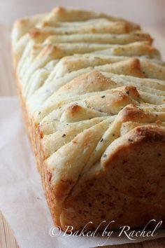 Garlic, Parmesan and Herb Pull Apart Bread.