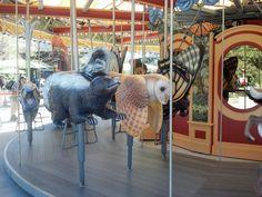 Carousel Carousel, Boston, Lion Sculpture, Carousel Horses