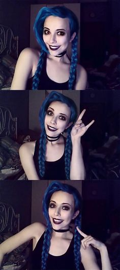 Jinx cosplay • League Of Legends
