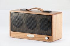 Timbre Classic Wireless Speaker in Blackbutt Timber - Bruns Acoustics Australia