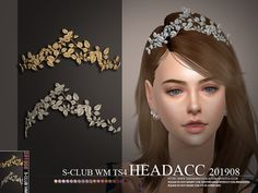 Head accessories, 3 swatches, hope you like, thank you. Found in TSR Category 'Sims 4 Female Hats' Sims 4 Mods Clothes, Sims 4 Clothing, Head Accessories, Wedding Hair Accessories, Sims 4 Piercings, Sims 4 Dresses, Sims4 Clothes, Play Sims, Sims 4 Cc Packs