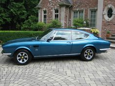 1971 Fiat Dino 2400 Coupe. These Fiats are a special bunch due to their Ferrari 2.4 liter V6 engine