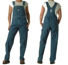 overalls My favorite was a pair of white painter overalls. I even remember where and when I bought them but I'm not sayin'. lol