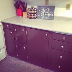 Kitchen cupboard DIY.