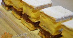 Lamboadas de Samhaim: Milhojas de crema y chocolate
