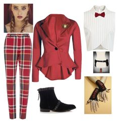 """""""steampunk #6 teeny bop"""" by greenacres1124 ❤ liked on Polyvore featuring Miss Selfridge, Le Chateau and Christopher Kane"""
