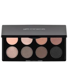 Create endless looks with this stunning eight shadow palette from Glo Minerals featuring four warm and four cool toned shades that will give you endless classic or dramatic eyes for your big day. Bridal Beauty, Bridal Makeup, Beauty Skin, Hair Beauty, Dramatic Eyes, Beauty Hacks, Beauty Tips, Cool Tones, All About Eyes