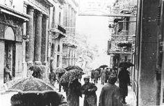 Sessanta anni fa La Nevicata del 1956 ad Agrigento. Video Fotogalleria