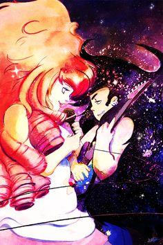 Steven Universe - Rose Quartz/Greg Universe