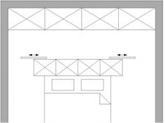 Headboard Storage with Sliding Partition