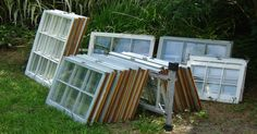Turn Junk Windows Into Stunning Home Additions With These 16 Brilliant DIY Ideas via LittleThings.com