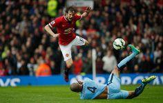 Blind. Manchester United v Manchester City