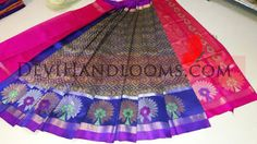 Indian Traditional Handloom Sarees: Kollam Silk Sarees