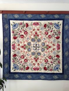 William Morris quilt by Mary Rankin