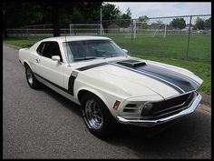F75 1970 Ford Mustang Boss 302 Fastback 302 CI, 4-Speed Photo 1