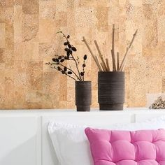 Cork walls are renewable composed of recycled content and toxic free. #designhounds #healthylife #wellness #interiorstyle #interiordesign #architecturaleye