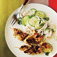 Chicken Satay by Cooking Light