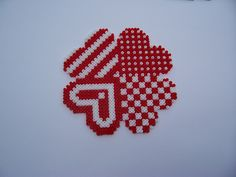 forever / hama perler beads / Bügelperlen