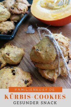 Kürbis Cookies - Another! Food Porn, Baby Snacks, Clean Eating, Healthy Eating, Halloween Cakes, Food And Drink, Pumpkin, Healthy Recipes, Treats