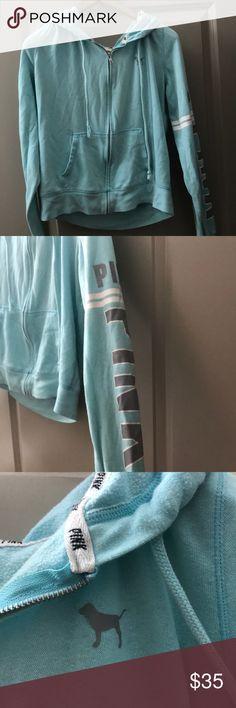 44d1d7b5e9e Jacket sweatshirt Cute and comfy VS zip up sweatshirt Good condition - no  damages PINK Victoria s Secret Jackets   Coats