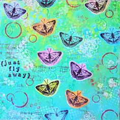 Just fly away Flies Away, Mixed Media, Design, Mixed Media Art
