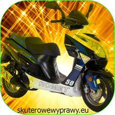 Mój skuter. Informacje znajdziesz na: http://skuterowewyprawy.eu/skutery