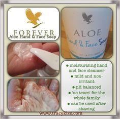 Forever Living Aloe Hand  Face Soap