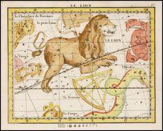 Le Lion (Leo) - Barry Lawrence Ruderman Antique Maps Inc.