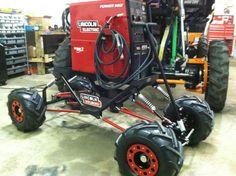 4x4 welding cart