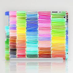 Prismatic Rainbow iPad Case by Morgan Ralston - $60.00