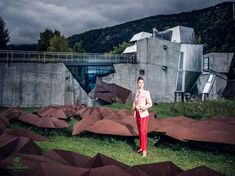 Gaisberger SS2018 2017-09-18 - What a location to shoot fashion!! The legendary Steinhaus of Günther Domenig. This is for my heart!! Architecture and fashion.... yeah!!  Client: Gaisberger Couture - Made in Austria SS2018 Model: Jasmin Oberdorfer Photographer: Martin Steinthaler Make-up: Sylvie Zemour Assistance: Maria Dolores Wawrzyniak Location: Steinhaus Austria, 18th, Couture, Architecture, Heart, Model, Travel, Fashion, Haute Couture