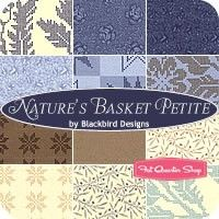 Nature's Basket Petite Fat Quarter BundleBlackbird Designs for Moda Fabrics