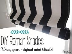 Cheap And Easy Cool Ideas: Outdoor Blinds Ideas blackout blinds living room.Bathroom Blinds How To Make outdoor blinds ideas. Bedroom Blinds, Diy Blinds, Cheap Blinds, Privacy Blinds, Blinds Ideas, House Blinds, Blinds For Windows, Shutter Blinds, Window Blinds