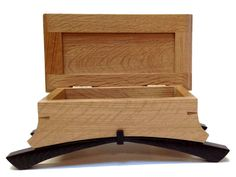 Kovecses Woodworking - Limited Edition Tango Box Show here is the Limited Edition Tango Box from Kovecses Design. Crafted from Quarter Sawn White Oak and Wenge, this box would look gorgeous in any roo