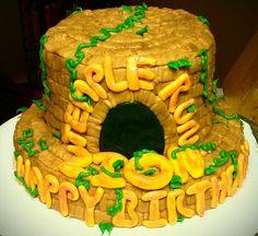 Temple Run Birthday Cake