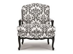 This Louis XV Montagne bergère is upholstered on a hand-carved hardwood frame made in Italy.  For comfort the seat cushion and the loose back cushion are luxurious Feathers Deluxe. Bergères' curvy lines integrate beautifully in both traditional and contemporary settings.