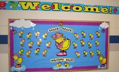 What a spring-y bulletin board set! Love this! And love those DJ Inkers Duckies!