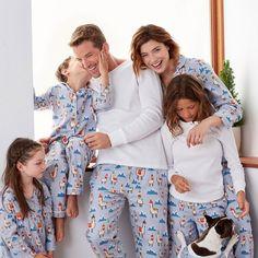 Family Flannel Pajamas - Llama