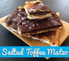 Salted Toffee Matzo Crunch: 5 Yummy Toddler-Friendly Passover Snacks | Disney Baby