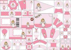 Kit de bella Angelita para Primera Comunión para Imprimir Gratis.