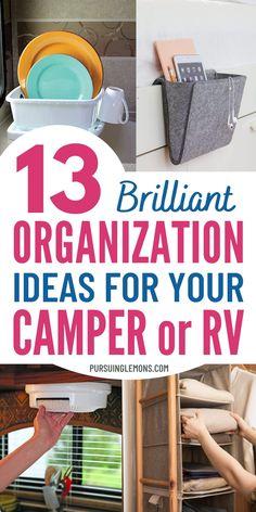 Travel Trailer Organization, Camping Organization, Organization Ideas, Organized Camping, Camping Meals, Couples Camping, Women Camping, Camping Tips, Organizing A Camper