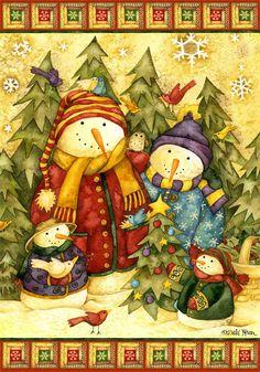 Garden Flags and House Flags for your home decorating fun Christmas Gift Tags Printable, Christmas Clipart, Christmas Printables, Christmas Snowman, Christmas Ornaments, Christmas Scenes, All Things Christmas, Christmas Time, Holiday