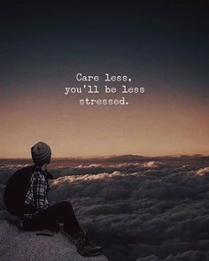 Positive Quotes : QUOTATION – Image : Quotes Of the day – Description Care less.. Sharing is Power – Don't forget to share this quote ! https://hallofquotes.com/2018/04/09/positive-quotes-care-less/