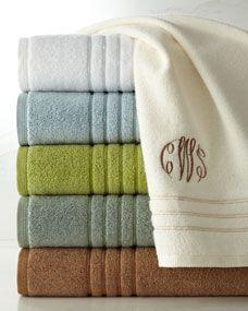 Lenox Platinum Towel Collection