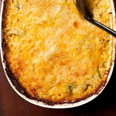 Broccoli Cheese Rice Casserole