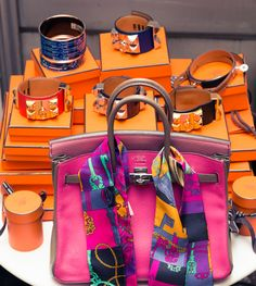 All Hermès everything. http://www.thecoveteur.com/erica-pelosini-part-ii/